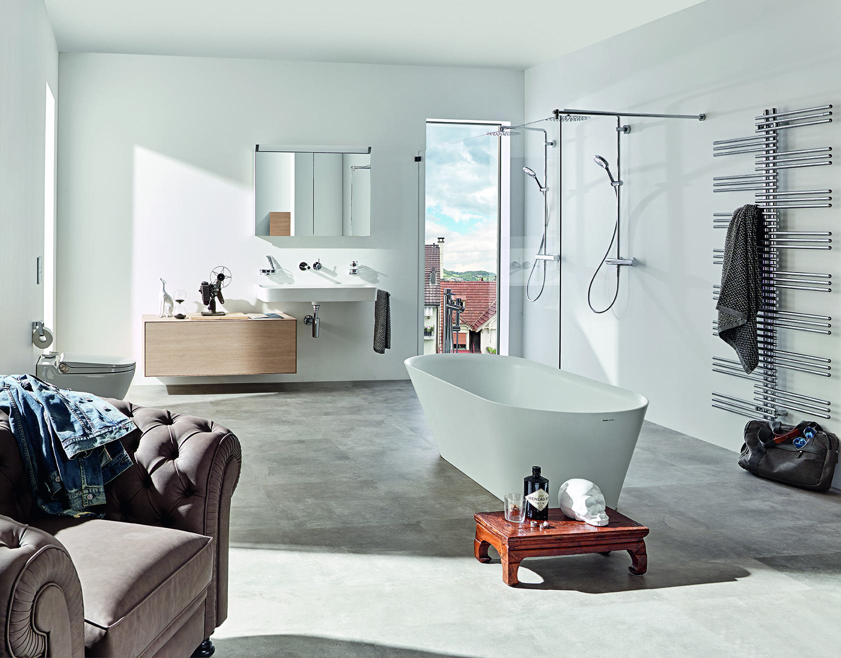 Das Badezimmer mit Wohnzimmer-Atmosphäre